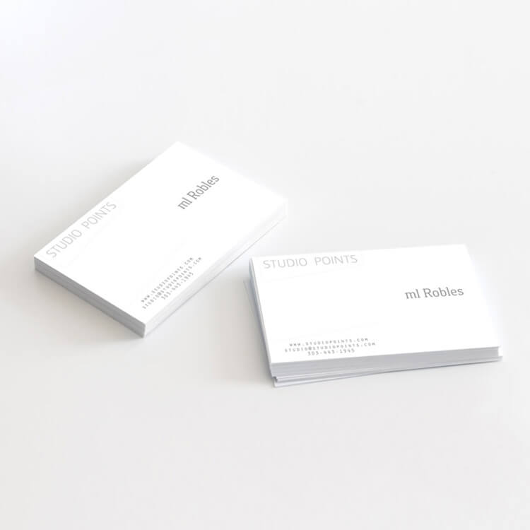 studio points business card